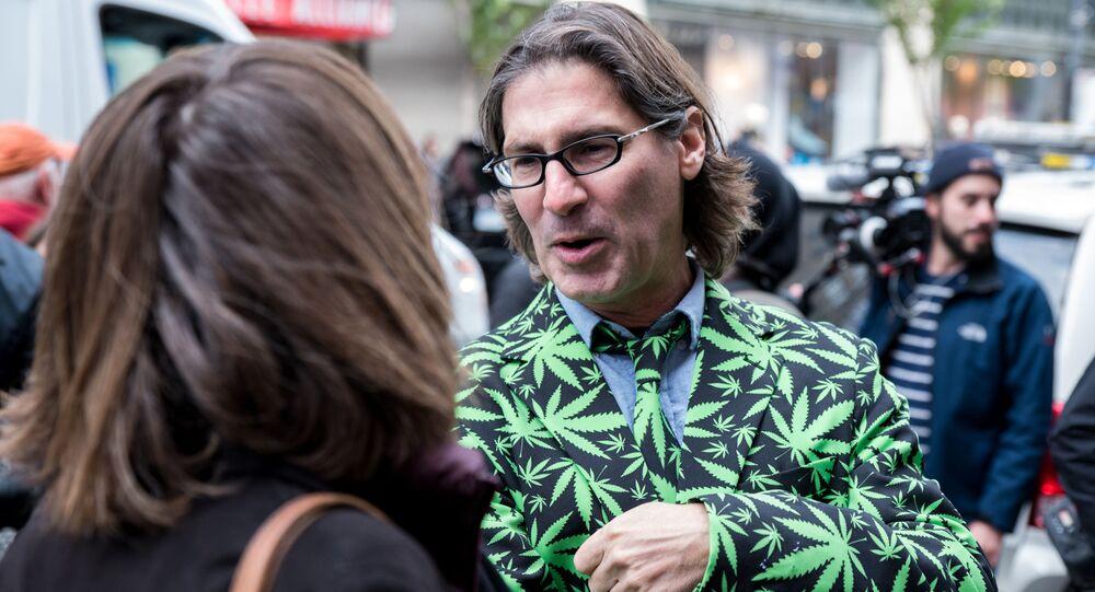 Kolejka po marihuanę w Kanadzie