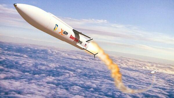 Projekt perspektywicznej hipersonicznej rakiety nośnej X-60A od amerykańskiego rakietowego startupu Generation Orbit Launch Services - Sputnik Polska