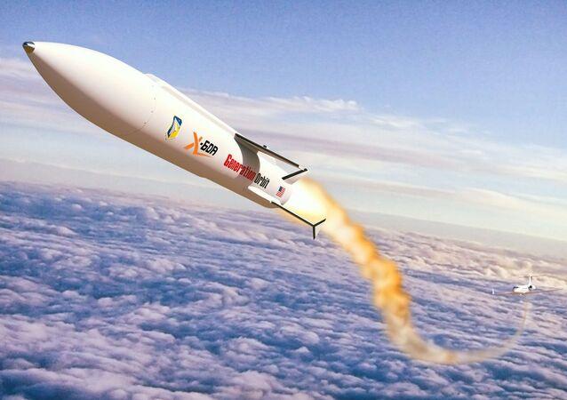 Projekt perspektywicznej hipersonicznej rakiety nośnej X-60A od amerykańskiego rakietowego startupu Generation Orbit Launch Services