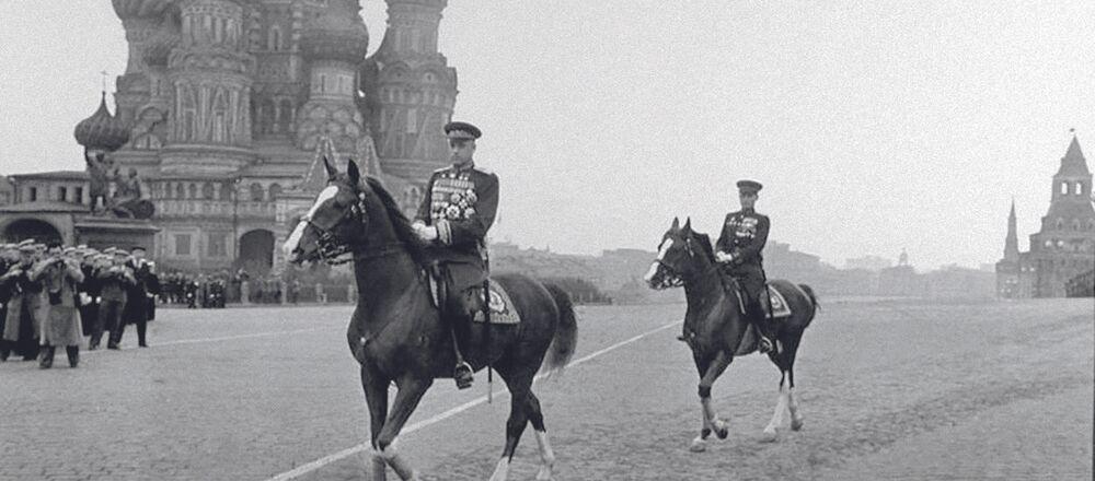 Konstanty Rokossowski, polski i sowiecki żołnierz, dowódca, marszałek Polski i marszałek Związku Radzieckiego, dwukrotny Bohater Związku Radzieckiego