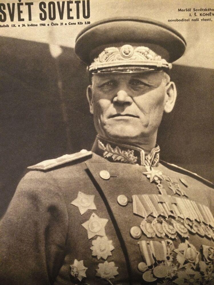 Iwan Stiepanowicz Koniew – radziecki dowódca wojskowy, marszałek Związku Radzieckiego
