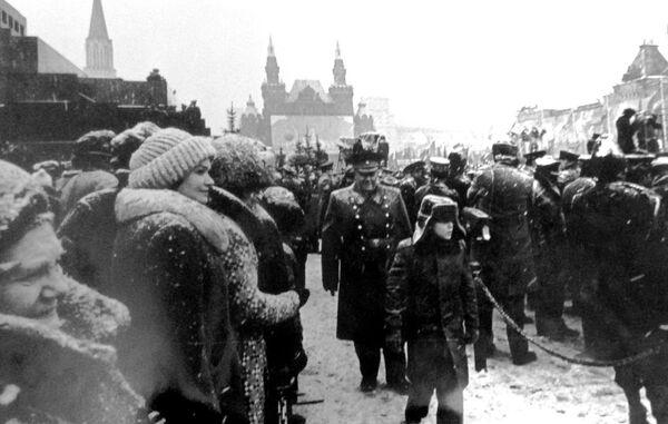 Andriej Iwanowicz Biełow, radziecki dowódca wojskowy  - Sputnik Polska