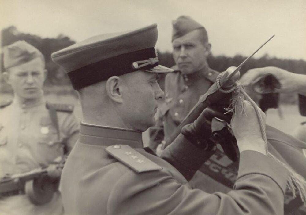 Parada Zwycięstwa w Niemczech, 1945 rok