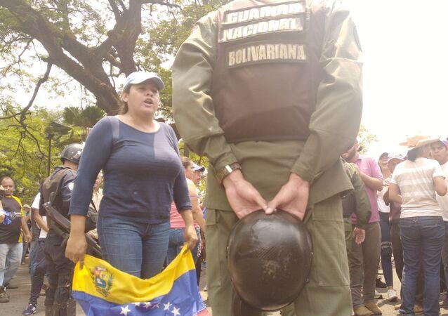 Zamieszki na ulicach Caracas