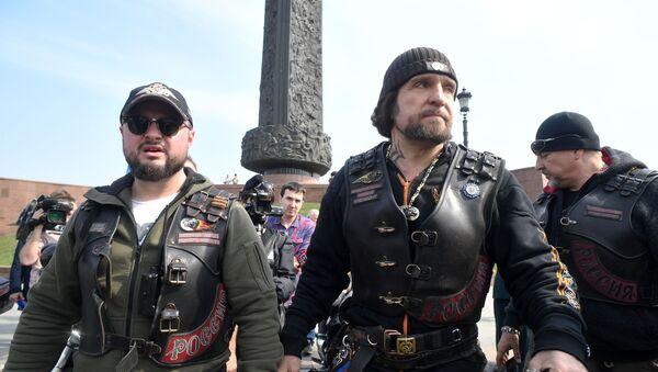 """Rozpoczęcie rajdu motocyklowego """"Drogi Zwycięstwa - na Berlin"""" - Sputnik Polska"""