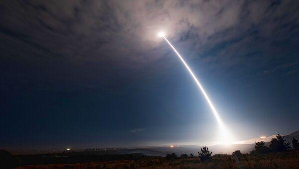 Próba amerykańskiej międzykontynentalnej rakiety balistycznej Minuteman III - Sputnik Polska