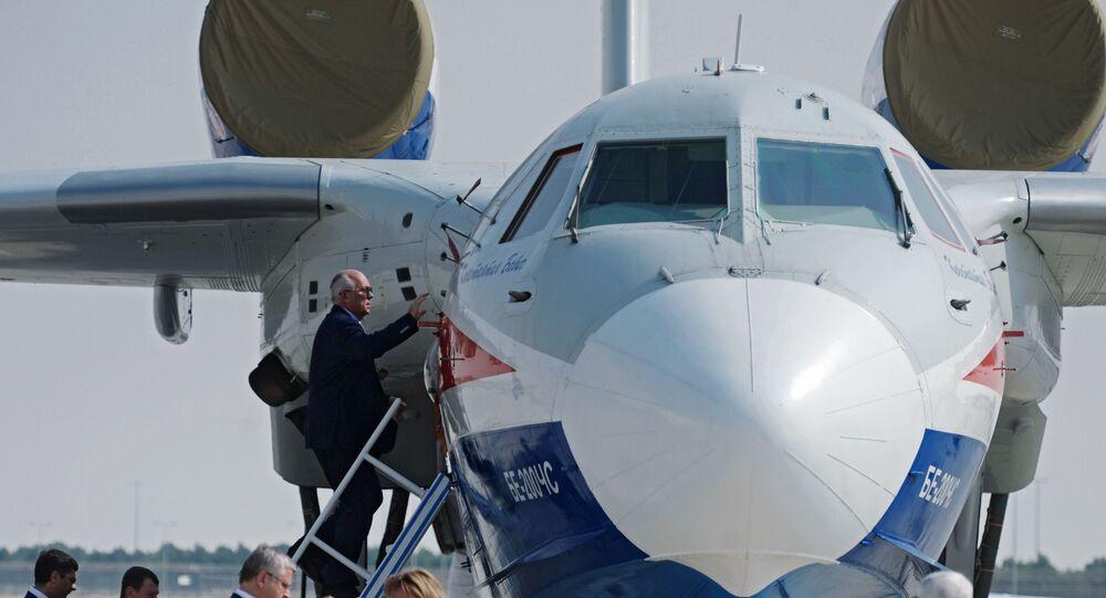 Rosyjski samolot BE-200, Dubai Airshow 2017