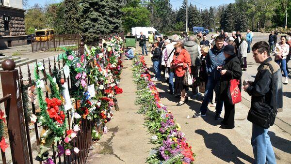 Piąta rocznica tragedii w Odessie, Ukraina - Sputnik Polska