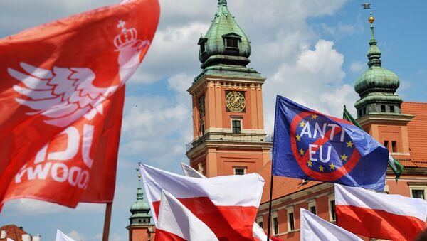 Marsz Suwerenności w Warszawie - Sputnik Polska