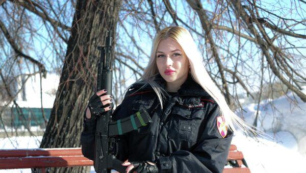 1 mejscie - Aspirant policji Anna Chramcowa z Jekaterynburga  - Sputnik Polska