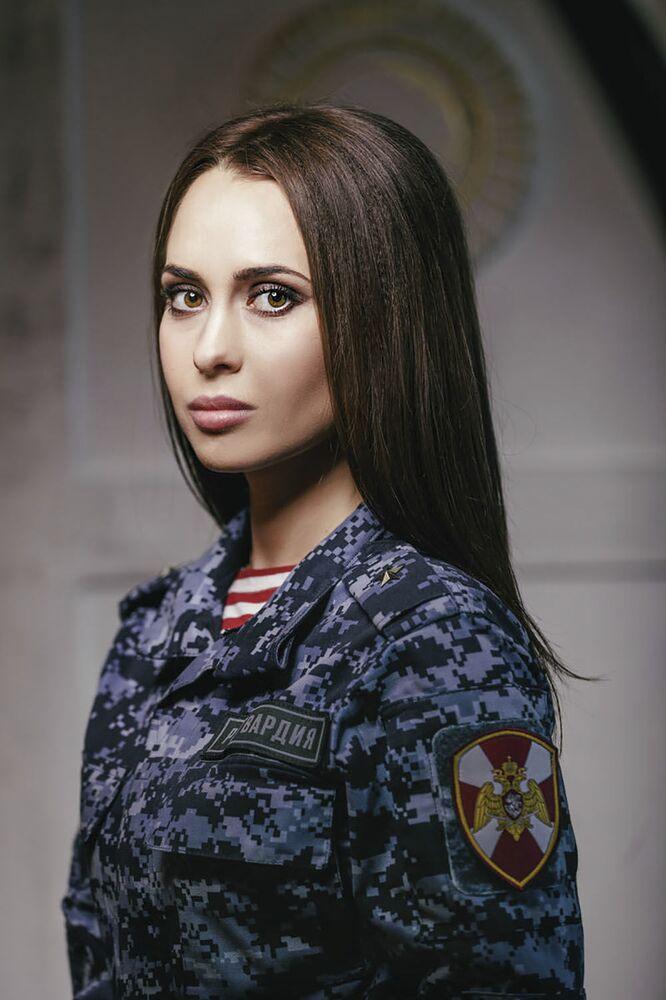 Major policji Olga Ascaturowa z Tuły
