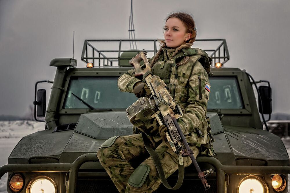 Major policji Jekatierina Jermakowa z Moskwy