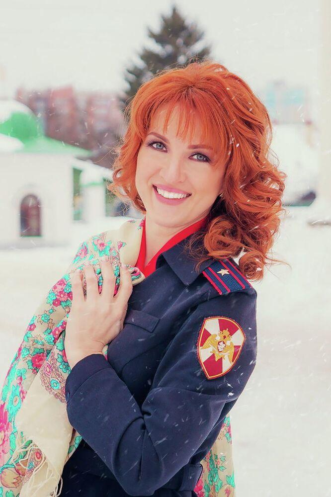 Major policji Julia Gładyszewa z Iwanowa