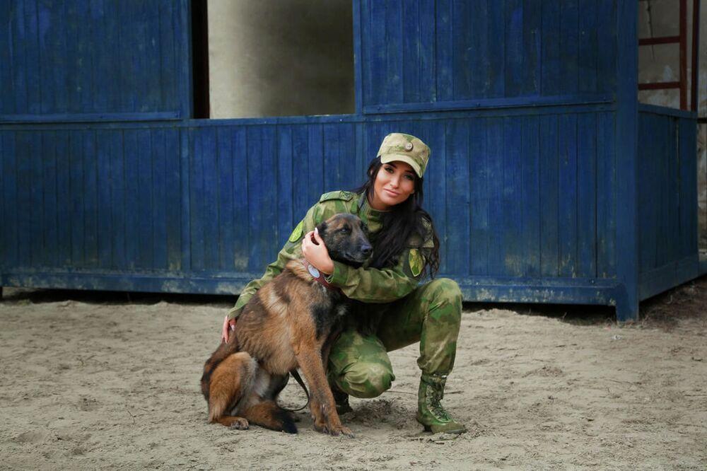 Starszy szeregowy Kristina Cyganowa z Rostowa nad Donem