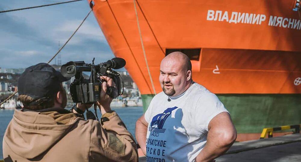 Rosyjski strongman Iwan Sawkin