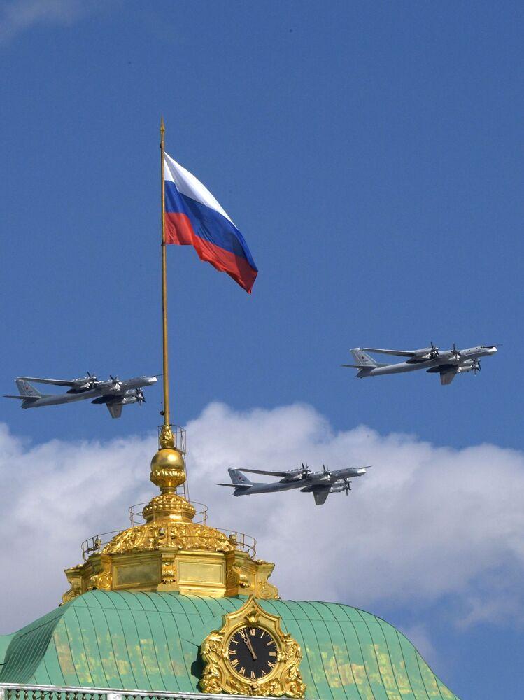 Strategiczny samolot bombowy dalekiego zasięgu Tu-95MS