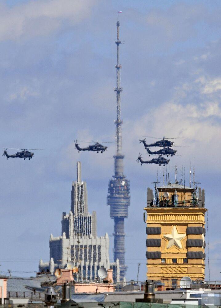 Śmigłowce szturmowe Mi-28N Nocny Drapieżnik