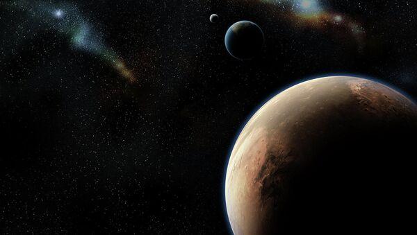 Mars i Ziemia - Sputnik Polska