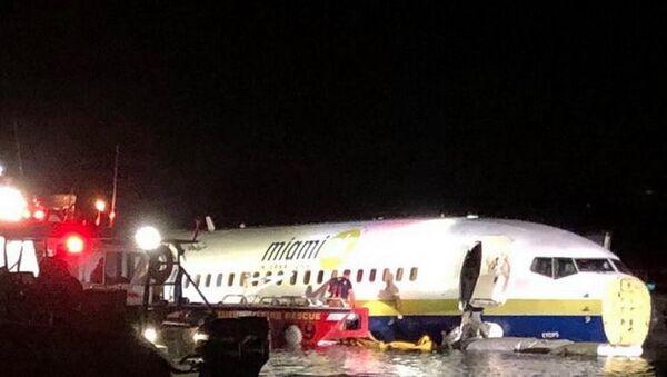 Awaria Boeinga 737 na Florydzie - Sputnik Polska