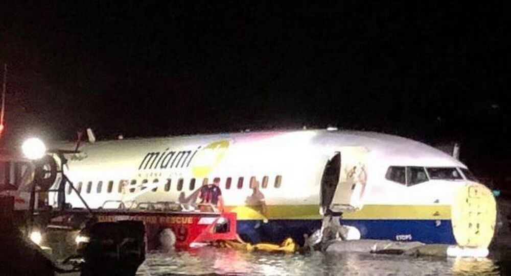 Awaria Boeinga 737 na Florydzie