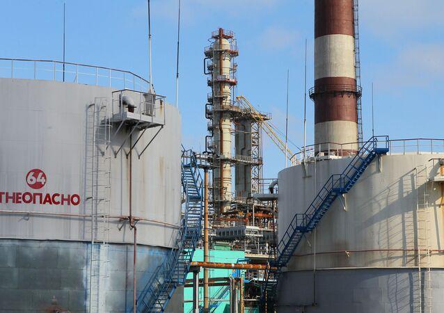 Mozyrska rafineria ropy naftowej na Białorusi