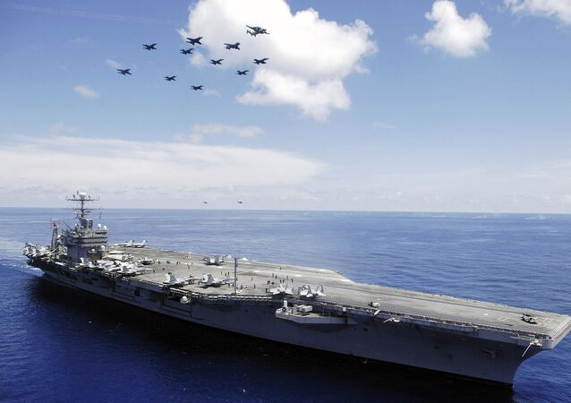 Lotniskowiec USS Abraham Lincoln