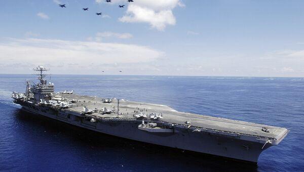 Lotniskowiec USS Abraham Lincoln - Sputnik Polska