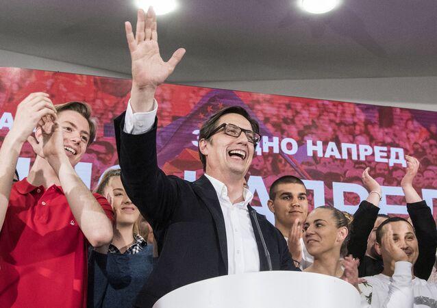 Kandydat socjaldemokratów Stewo Pendarowski