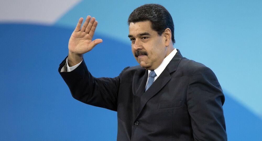 Prezydent Boliwariańskiej Republiki Wenezueli Nicolas Maduro
