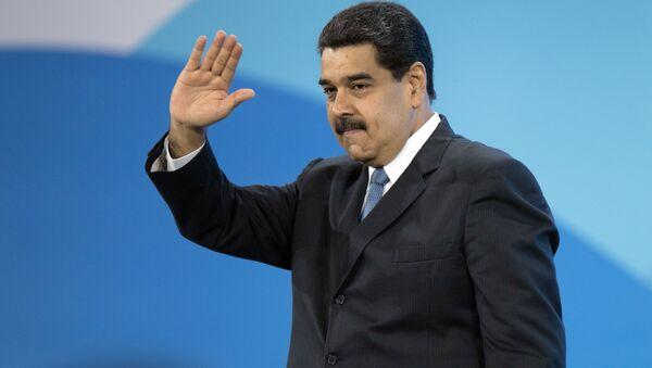 Prezydent Boliwariańskiej Republiki Wenezueli Nicolas Maduro - Sputnik Polska
