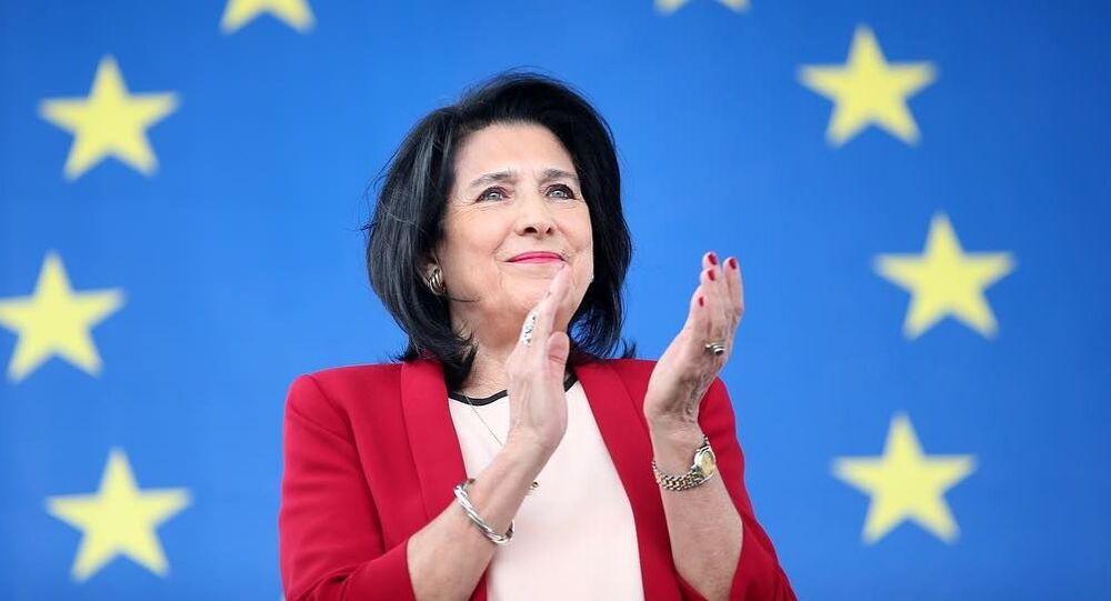 Prezydent Gruzji Salome Zurabiszwili