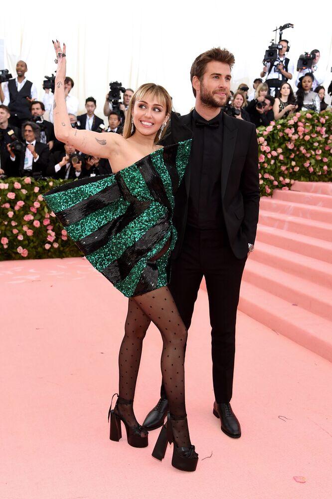 Miley Cyrus z mężem
