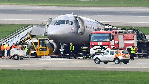 Tragedia na lotnisku Szeremietiewo - Sputnik Polska