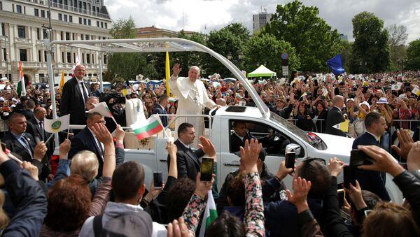 Papież Franciszek w Sofii, Bułgaria - Sputnik Polska