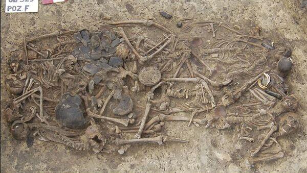Szczątki prehistorycznych ludzi, zamordowanych ok. 5 tys. lat na terenie Polski - Sputnik Polska