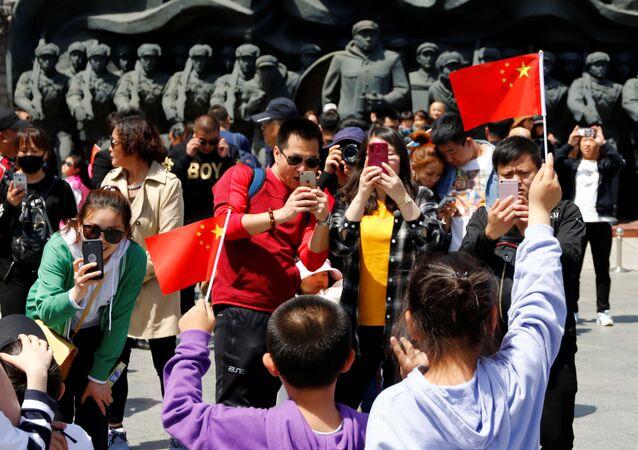 Chińscy turyści
