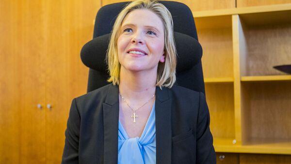 Minister zdrowia Norwegii Sylvi Listhaug - Sputnik Polska