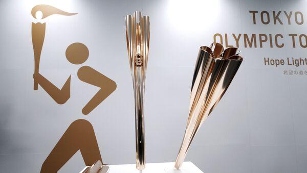 Symbole Letnich Igrzysk Olimpijskich 2020 - Sputnik Polska