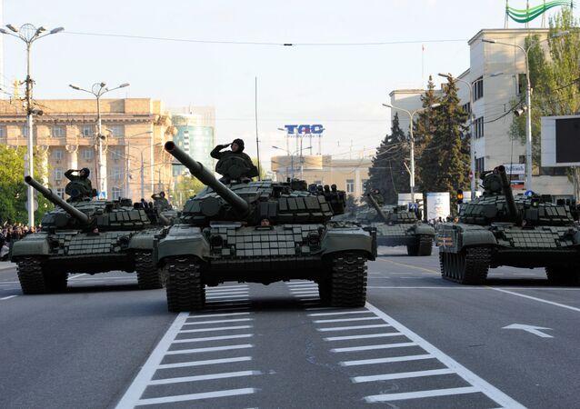 Próba do Parady Zwycięstwa w Doniecku