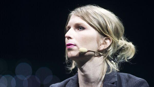 Amerykańska działaczka społeczna i polityczna, była żołnierz amerykańskiej armii Chelsea Manning - Sputnik Polska