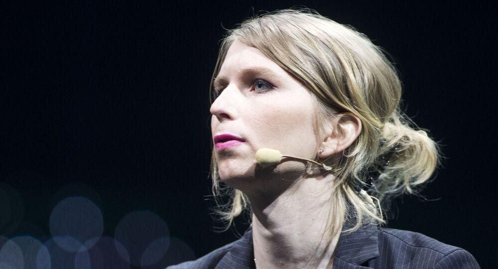 Amerykańska działaczka społeczna i polityczna, była żołnierz amerykańskiej armii Chelsea Manning