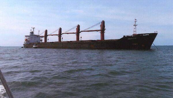 Północnokoreański statek handlowy Wise Honest - Sputnik Polska