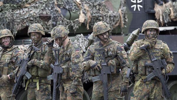 Bundeswehra na Litwie - Sputnik Polska