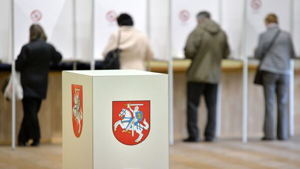 Wybory prezydenckie na Litwie - Sputnik Polska