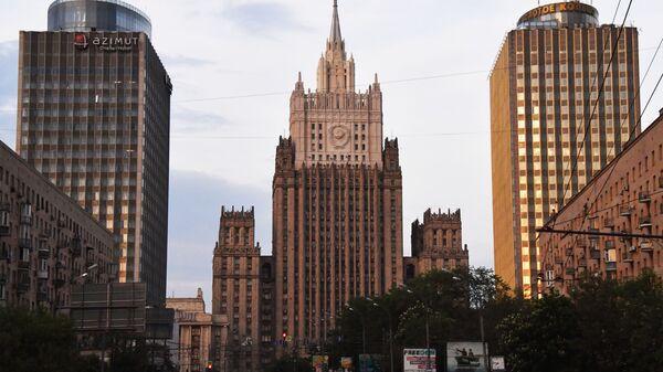 Budynek MSZ Federacji Rosyjskiej - Sputnik Polska