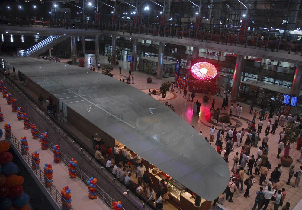 Port lotniczy Hajdarabad w Indiach