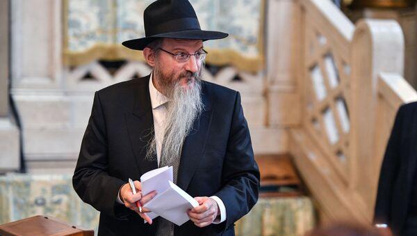 Naczelny rabin FR Berel Lazar - Sputnik Polska