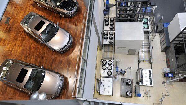 Samochody Volkswagen Phaeton, Drezno - Sputnik Polska