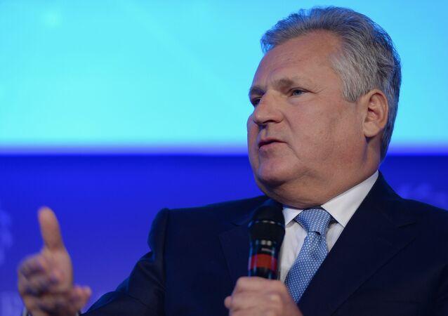 Były prezydent Polski Aleksander Kwaśniewski