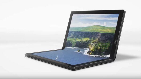 Pierwszy zginający się laptop firmy Lenovo - Sputnik Polska